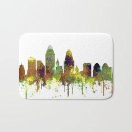 Cincinnati, Ohio Skyline SG- Safari Buff Badematte