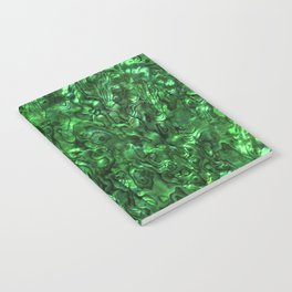 Abalone Shell | Paua Shell | Green Tint Notebook