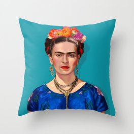 Frida Khalo Throw Pillow