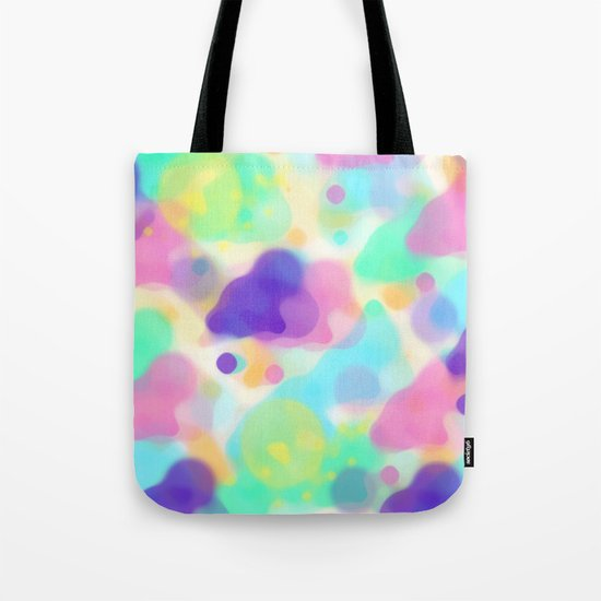 Watercolor splashes abstract Tote Bag