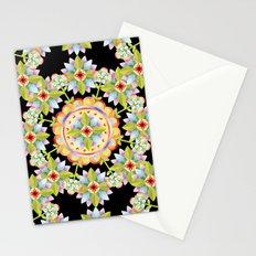 Starflower Mandala Blossoms Stationery Cards