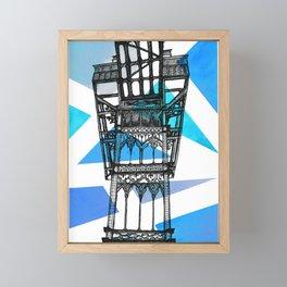 Elevador de Santa Justa - Lisbon Framed Mini Art Print