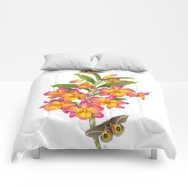 Orchid&Moths Comforters