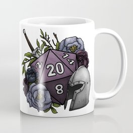 Fighter Class D20 - Tabletop Gaming Dice Coffee Mug