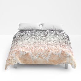 BOHEMIAN HYGGE MANDALA Comforters