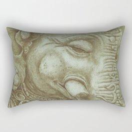 Ganesh green Rectangular Pillow