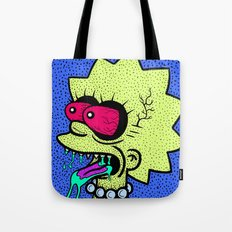 LISA GRIMMSON. (THE GRIMMSONS). Tote Bag