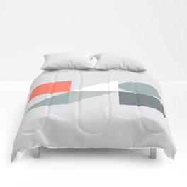 Mid Century Modern Geometric 01 Comforters