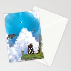 Flying Castle Stationery Cards