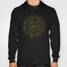 Gold Hand Drawn Mandala Hoody