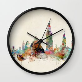 venice italy skyline Wall Clock