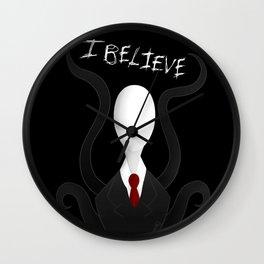 Slenderman: I Believe Wall Clock