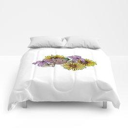 Flower Cat Comforters