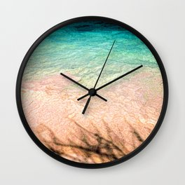 SEA AND TREE Wall Clock