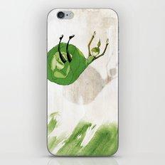Lettuce Woman iPhone & iPod Skin