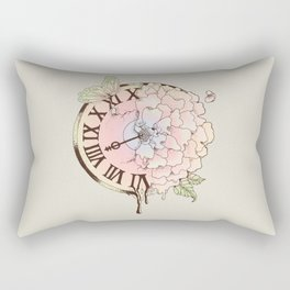 Il y a Beauté dans le Temps (There is Beauty in Time) Rectangular Pillow