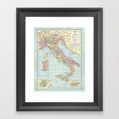 Vintage Italy Framed Art Print