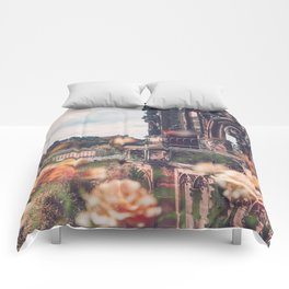 Edinburgh in Bloom Comforters