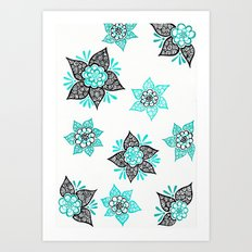 Sharpie Doodle 7 Art Print