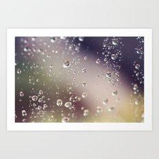 Raindrops I Art Print