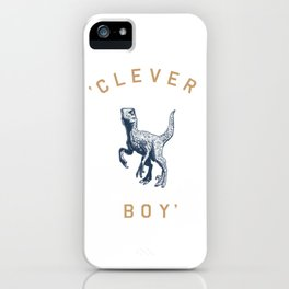 Clever Boy iPhone Case