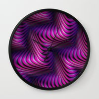 3d Wall Clocks featuring 3D by DagmarMarina