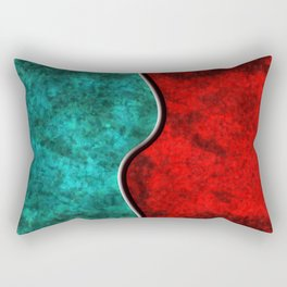 Blood and Water Rectangular Pillow