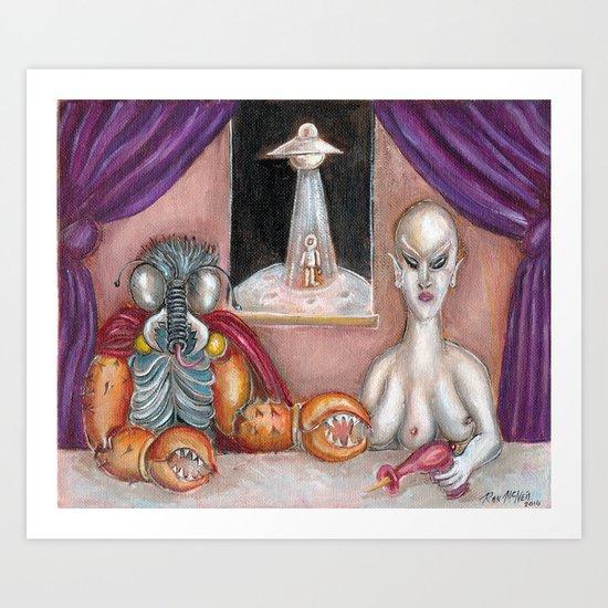 The Alien Ambassadors Art Print