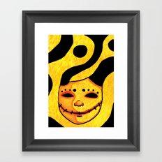 Smile For Me Framed Art Print