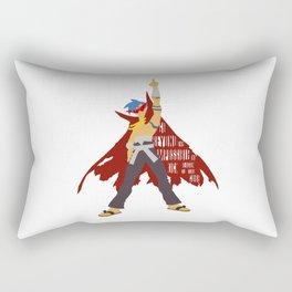 Kick reason to the curb! Rectangular Pillow