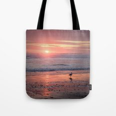 Sunset at Cannon Beach Oregon Tote Bag