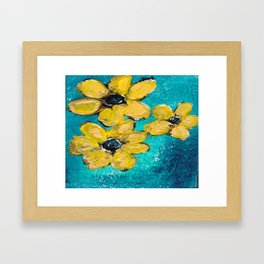 Seeing in the Dark Framed Art Print