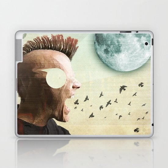 luna mohawk  Laptop & iPad Skin