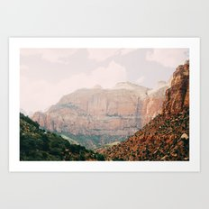 zion national park 1 Art Print
