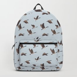 Flock of Canada geese Backpack