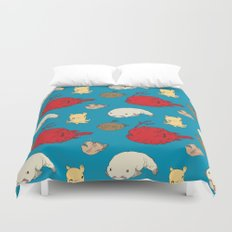 Creatures of the Deep Duvet Cover