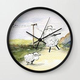 Slackline Wall Clock