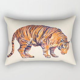 Tiger Painting Rectangular Pillow