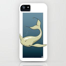 Alien White Whale iPhone Case