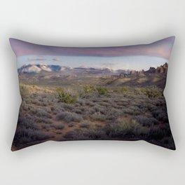 Dusk at Arches National Park Moab, UT Rectangular Pillow