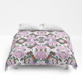 Floreal Dessins Pattern Comforters