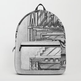 Coin controlled Backpack