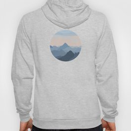Pastel Sunset over Blue Mountains Hoody