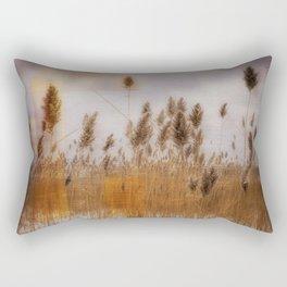 Beach Grass 3 Rectangular Pillow
