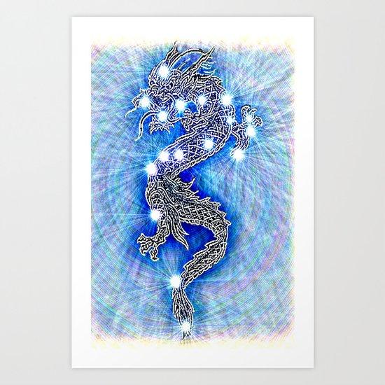 Dragon-constellation series Art Print