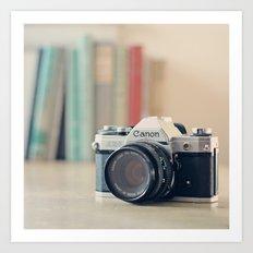 Vintage Film Camera  Art Print
