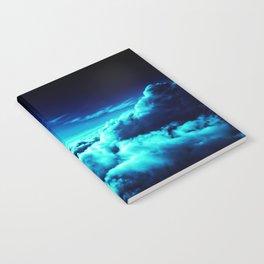 Clouds Deep Blue Notebook
