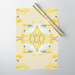Natural Cockatoo Wrapping Paper