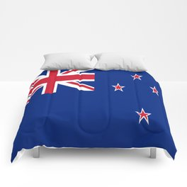 The Flag of New Zealand Comforters