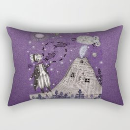 When the Little Prince came to Iceland Rectangular Pillow